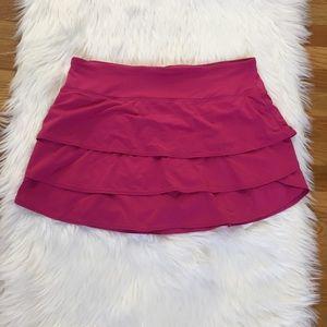 Athleta Pink Mini Skirt